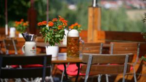 Biergarten im Wastl Wirt