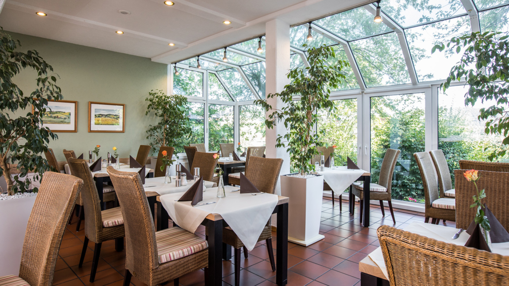 Wintergarten im Restaurant Bad Griesbach